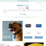 Free Standard Shipping When You Purchase 3+ Products From the Pet Range @ Stuck on You