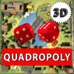 [Android, iOS] Quadropoly 3D: Free 2 Premium Tokens and No Ads for 3 Days with Promo Code - Google Play/Apple Store