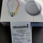 [WA] Google Nest Mini with GE Imagine Smart Light Starter Kit $30 @ Officeworks Cannington