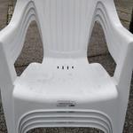 [SA] Verona Outdoor Resin Chair White $2.00 @ Bunnings, Seaford