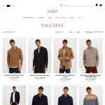 Markdowns Sale (up to 80% off) + $10 Delivery ($0 over $150) at SABA