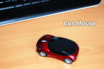 2.4GHz Car Shaped Wireless Optical Mouse with Nano Receiver $0.01