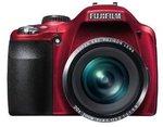 Fujifilm FinePix SL300 14MP Digital Camera (Red Only) - $160 Del. Amazon US