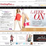 One Stop Plus Size Clothing 30%off Highest Priced Item Then 10% off Other Eligible Items