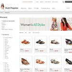 HushPuppies - Further Reductions, Womens from $29, Mens from $49, Free Shipping