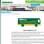 Metro Tasmania Fare Free Weekend, Free Bus Travel From 9th-11th FEB