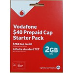 Vodafone $40 Pre-Paid Cap Starter Pack