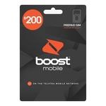 Boost Mobile $200 Pre-Paid Sim Starter Kit