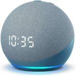 Amazon Echo Dot 4th Gen with Clock