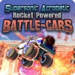 Supersonic Acrobatic Rocket-Powered Battle-Cars