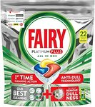Fairy Platinum Plus All in One Dishwasher Tablets
