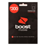 Boost Mobile $300 Pre-Paid Sim Starter Kit